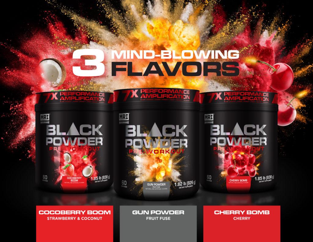 MRI Black Powder Pre Workout